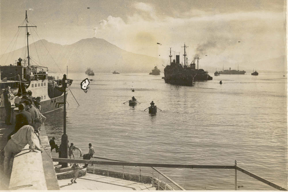 FIRST CONVOY INTO NAPLES